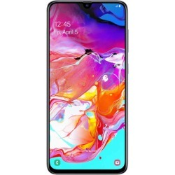 Smartphone Samsung Galaxy A70 Dual Sim 128GB Desbloqueado Blanco found on Bargain Bro India from walmartdirecto.mx for $572.59