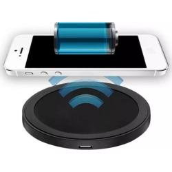 Cargador Inalámbrico Qi Con Funda IPhone 5/5S - Dorado QI GADGETSMX62164