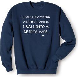 Spider Web Shirts - Sweatshirt - Medium