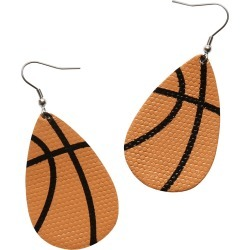 Sports Earrings - Basketball