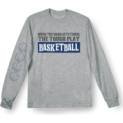 Who I Am Sports Shirts - Basketball - Sweatshirt - Medium