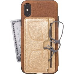Handy Specs With Phone Wallet - Gold