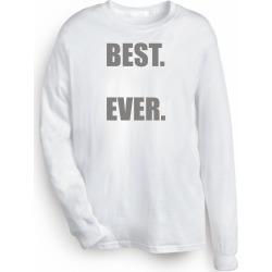 Personalized Best Shirts - White - Long Sleeve T-Shirt - Large