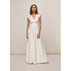 Eve Silk Wedding Dress found on Bargain Bro UK from Whistles