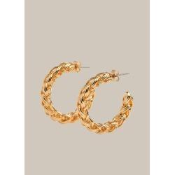 Plaited Large Hoop Earring found on Bargain Bro UK from Whistles
