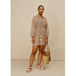 Mini Leopard Beach Dress found on MODAPINS from Whistles for USD $109.27
