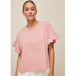 Cotton Frill Tshirt found on Bargain Bro UK from Whistles