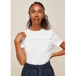 Broderie Insert T-Shirt found on Bargain Bro UK from Whistles