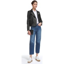 Agnes Leather Biker found on Bargain Bro UK from Whistles