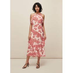 Devina Diagonal Floral Dress found on Bargain Bro UK from Whistles