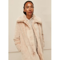 Whistles Women Faux Fur Coat found on Bargain Bro UK from Whistles