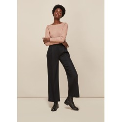 Whistles Women Straight Neck Sparkle Top found on Bargain Bro UK from Whistles