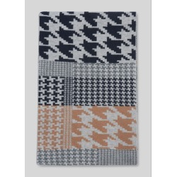 Green Thomas Houndstooth Scarf found on Bargain Bro UK from Whistles