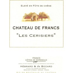 Chateau de Francs 2018 Les Cerisiers (Futures Pre-Sale) - Bordeaux Blends Red Wine found on Bargain Bro India from Wine.com for $12.97