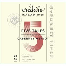 Credaro five Tales 2016 Cabernet Sauvignon Merlot - Bordeaux Blends Red Wine found on Bargain Bro India from Wine.com for $19.99