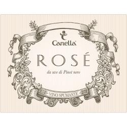 Canella Brut Rose - Champagne & Sparkling