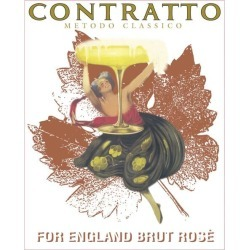Contratto 2012 For England Brut Rose - Champagne & Sparkling