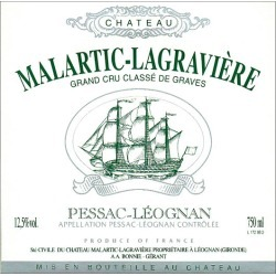 Chateau Malartic-Lagraviere 2015 Blanc - Bordeaux Blends White Wine found on Bargain Bro India from Wine.com for $64.99