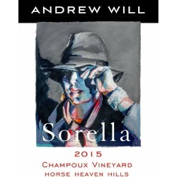 Andrew Will Winery 2015 Sorella - Bordeaux Blends Red Wine found on Bargain Bro Philippines from Wine.com for $79.99