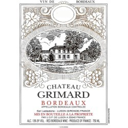 Chateau Grimard 2016 - Bordeaux Blends Red Wine found on Bargain Bro India from Wine.com for $10.99