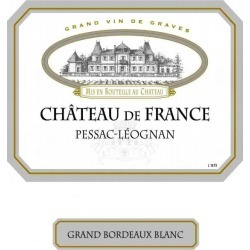 Chateau de France 2018 Blanc - Bordeaux Blends White Wine found on Bargain Bro India from Wine.com for $29.99