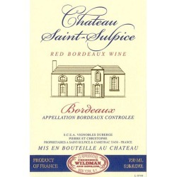 Chateau Saint Sulpice 2016 Rouge - Bordeaux Blends Red Wine found on Bargain Bro India from Wine.com for $14.99
