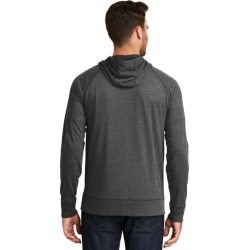 Men's Full Zip Hoodie in Black Heather - X-Large - Accessories