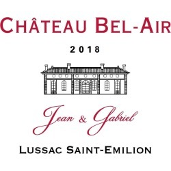 Chateau Bel-Air 2018 Jean & Gabriel Lussac St-Emilion (Futures Pre-Sale) - Bordeaux Blends Red Wine found on Bargain Bro India from Wine.com for $24.97