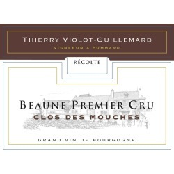 Thierry Violot-Guillemard 2016 Beaune Clos des Mouches Premier Cru - Pinot Noir Red Wine found on Bargain Bro India from Wine.com for $79.99
