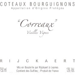 Jean Rijckaert 2015 Coteaux Bourguignons Correaux Vieilles Vignes - Gamay Red Wine found on Bargain Bro India from Wine.com for $19.99