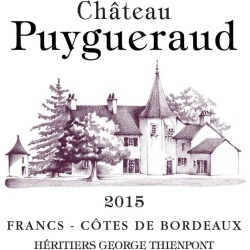 Chateau Puygueraud 2015 - Bordeaux Blends Red Wine found on Bargain Bro India from Wine.com for $19.99