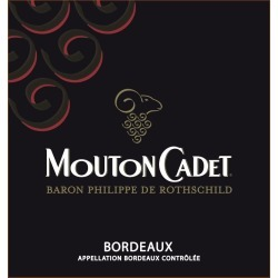 Mouton Cadet 2017 Rouge - Bordeaux Blends Red Wine found on Bargain Bro India from Wine.com for $13.99