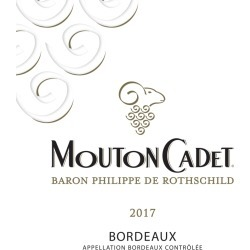 Mouton Cadet 2017 Blanc - Bordeaux Blends White Wine found on Bargain Bro India from Wine.com for $11.99