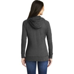 Ladies' Full Zip Hoodie in Black Heather - X-Large - Accessories