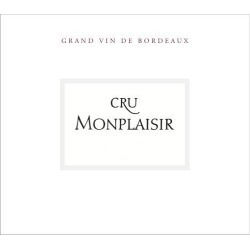 Cru Monplaisir 2016 Bordeaux Superieur - Bordeaux Blends Red Wine found on Bargain Bro India from Wine.com for $19.99