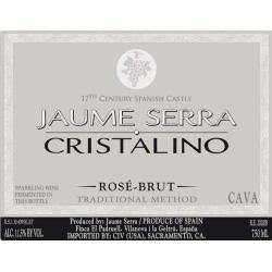 Jaume Serra Cristalino Cava Brut Rose - Champagne & Sparkling