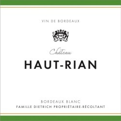Chateau Haut Rian 2018 Blanc - Bordeaux Blends White Wine found on Bargain Bro Philippines from Wine.com for $12.99