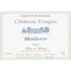 Chateau Fougas 2000 Cotes de Bourg Maldoror - Bordeaux Blends Red Wine found on Bargain Bro India from Wine.com for $44.97