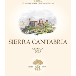 Sierra Cantabria 2015 Crianza - Tempranillo Red Wine found on Bargain Bro India from Wine.com for $15.99
