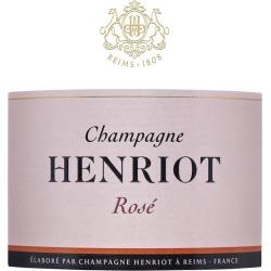 Henriot Brut Rose - Champagne & Sparkling
