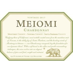 Meiomi 2017 Chardonnay (375ML half-bottle) - White Wine found on Bargain Bro India from Wine.com for $10.99