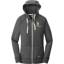 Ladies' Full Zip Hoodie in Black Heather - Large - Accessories
