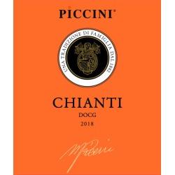 Piccini 2018 Chianti - Sangiovese Red Wine