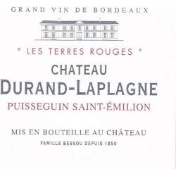 Chateau Durand-Laplagne 2018 Les Terres Rouges Puisseguin-Saint Emilion (Futures Pre-Sale) - Bordeaux Blends Red Wine found on Bargain Bro India from Wine.com for $10.97
