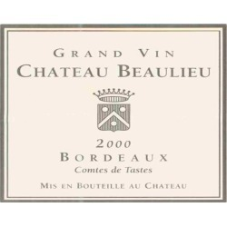 Chateau Beaulieu 2000 Comtes de Tastes - Bordeaux Blends Red Wine found on Bargain Bro India from Wine.com for $43.97