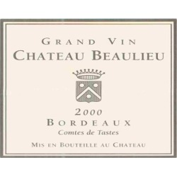 Chateau Beaulieu 2000 Comtes de Tastes - Bordeaux Blends Red Wine found on Bargain Bro Philippines from Wine.com for $43.97