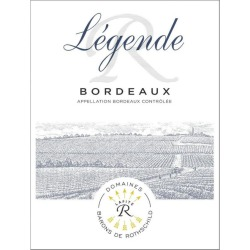 Domaines Barons de Rothschild 2016 Legende Bordeaux Rouge - Bordeaux Blends Red Wine found on Bargain Bro India from Wine.com for $15.99