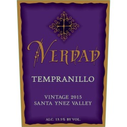 Verdad 2015 Santa Ynez Valley Tempranillo - Red Wine found on Bargain Bro India from Wine.com for $35.99
