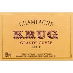 Krug Grande Cuvee Brut (375ML half-bottle) - Champagne & Sparkling