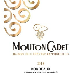 Mouton Cadet 2018 Blanc - Bordeaux Blends White Wine found on Bargain Bro India from Wine.com for $11.99